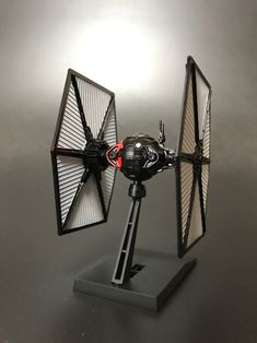 BANDAI VM04 FIRST ORDER TIE FIGHTER (1/144) by SirMiles