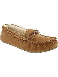 Old Navy Moccasins! I want these for Christmas. They look so comfy!
