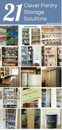 21 clever pantry storage solutions you can use right now.