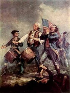 American Revolution. I had three relatives in this war John Adam Gruber, John Valentine Moyer, and John Benner