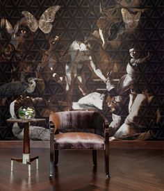 The Butterfly high end wallpaper by Daisy James