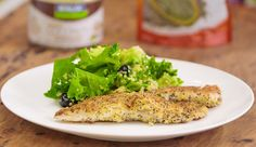 Coconut and Chia Seed Crumbed Fish - Good Chef Bad Chef