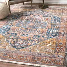 World Menagerie Artemas Oriental Rust Area Rug Rug Size: Rectangle x Red Rugs, Nuloom, Small Rugs, Power Loom, Rug Sale, Joss And Main, Area Rugs For Sale, Area Rugs, Orange Rugs
