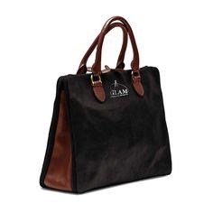 Shoulder Bag Black-Brown