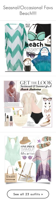 """""""Seasnal/Occasional Favs Beach!!!!"""" by berrypoplife ❤ liked on Polyvore featuring Nancy Gonzalez, Cactus, New Look, beach, beachstyle, sammydress, plussize, plussizefashion, Anja and Origins"""