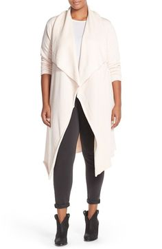 Melissa McCarthy Seven7 Waterfall Cardigan (Plus Size) available at #Nordstrom