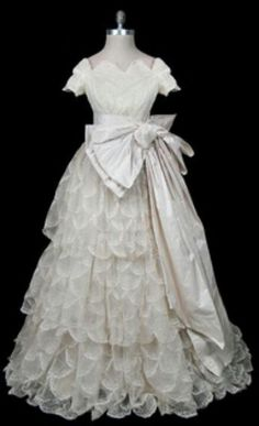 Balmain 1955 Wedding Gown