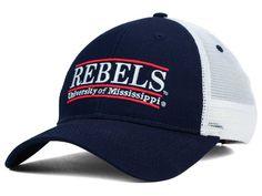 Mississippi Rebels Game Mesh Bar Hats