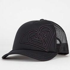 2fbcf2758d3 ROXY Dig This Womens Trucker Hat - BLACK - 449D17TU