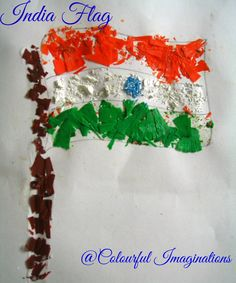 50 Ideas for India Republic Day or Independence Day party - crayon shaving flag - Holiday - Buvizyon Independence Day Activities, Happy Independence Day India, Independence Day Decoration, Independence Day Wallpaper, Indian Independence Day, Independence Day Images, Nigeria Independence, Peacock Crafts, India Crafts