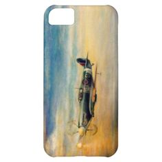 Airplane Spitfire Cover For iPhone 5C