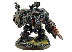 40k - Iron Hands Dreadnought