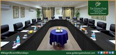 From internal meetings to conferences, Golden Palms Hotel & Spa, Bengaluru, is the ideal spot to shape your business strategies. Visit now at www.goldenpalmshotel.com for more details. #MagnificentMondays