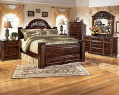 Traditional Bedroom Furniture Decor