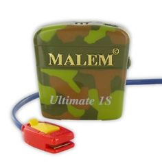 Malem Ultimate Selectable Bedwetting Enuresis Alarm with Vibration - Camouflage * Continue to the product at the image link.