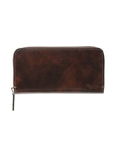 Paul Smith Collection(ポール・スミス コレクション)のLONG BILLFOLD AND COIN WALLET(PC STAIN CALF)【554844 J316】(財布)|ブラウン