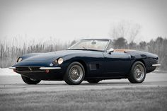 It might not have the same name recognition as a Ferrari, but this 1968 Intermeccanica Italia Spyder is no less desirable.