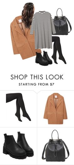 """""""Untitled #8"""" by chloxoxoxx on Polyvore featuring Via Spiga, MANGO, Furla and Monki"""