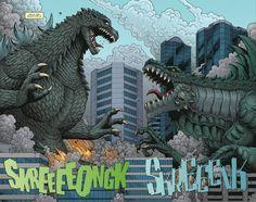 godzilla comic art | Monster of Monsters: Your Guide To IDW's Godzilla Comics