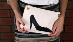 DIY: kopertówka z butem - Dior inspired clutch with shoe