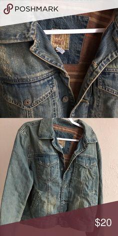 Old Navy Jean Jacket Distressed Old Navy Jean Jacket. Old Navy Jackets    Coats Old 3c4b1769c