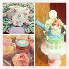 Watering can Flower cake