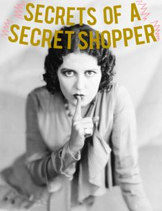 secret shopper secrets