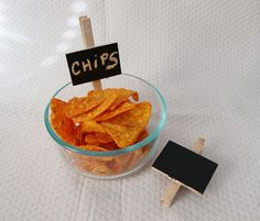Mini Chalk Board Clothes Pin Clips Organize And Label