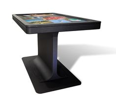 MT55 Platform multitouch table. An integrated and rugged touch table with a lifetime license for GestureWorks.