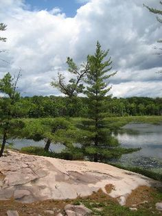 Killarney Provincial Park, Killarney Picture: Another lagoon by Lake Huron - Check out Tripadvisor members' 510 candid photos and videos. Rock And Pebbles, Lake Huron, Lake George, Ontario, Trip Advisor, Golf Courses, Rocks, River, Photo And Video