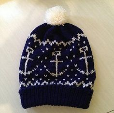 Ravelry: The Anchor tuque pattern by Jen Sangiovanni