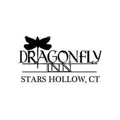 Image result for dragonfly inn logo gilmore girls