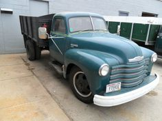 Truck was recently redone in my opinon. Interior looks great (needs headliner). Looks like the motor was gone through which is proven by the way she runs. She fires up and runs great. Brakes are soft 1949 Chevy Truck, Truck Flatbeds, Shop Truck, Farm Trucks, Dump Trucks, Chevrolet Trucks, Old Trucks, Classic Trucks, Classic Cars