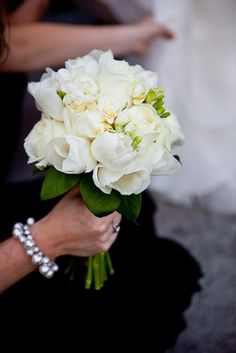 #bouquet featuring roses, tulips and freesia