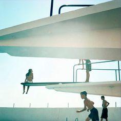 Swimming pool series — Karine Laval