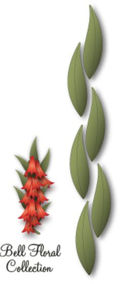 In The Making - Dee's Distinctively Die - Floral Leaf 4 (leaf only),$6.99
