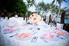 Elegant table setup #DreamsLaRomana #DominicanRepublic #Destinationwedding