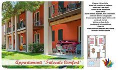 appartamenti trilocale comfort-villaggio lago di Garda, Sirmione