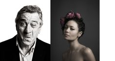Behind the Mask: Andy Gotts MBE portraits for BAFTA At Somerset House in January and February.