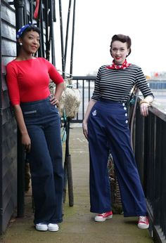 Vintage-Style-Spring-Fashions-from-Vivien-of-Holloway---nautical-wear3