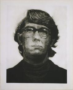 Chuck Close. Keith/Mezzotint. 1972