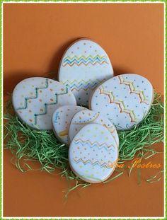 Huevos pascua #galletasfondant #arapostres