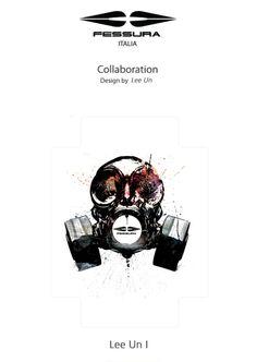 Fessura Artist collaboration Bag pack_Helldog by lee un