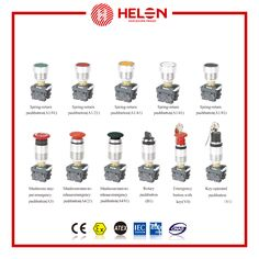 HL0105-Series Explosion-proof Control Buttons(back-board) - helon
