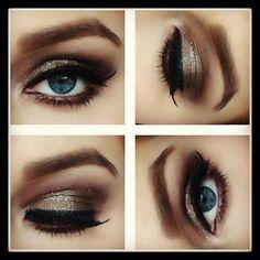 Brown smokey eye . Erika Crevier