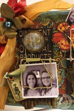Denise Hahn Olde Curiosity Shoppe Altered Mouse Trap Picture Holder - 06-imp