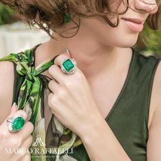 Get green with @roderyworld ❤️ Credit: @gartsevanataliya for www.margoraffaelli.com #margolovesrodery #margolovesemeralds psychic_lovespells11😍😻😻