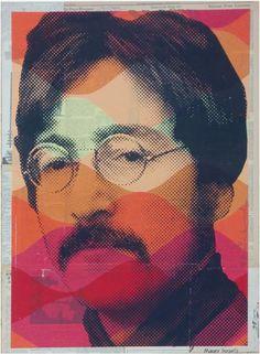 Hierbei handelt es sich um einen handsignierten und per Hand veredelten Pop Art Siebdruck (Mixed Media) des bekannten Urban Art Künstlers Mr. Brainwash.    Abmessungen: 51cm x 71cm  Material: Siebdruck auf altem Papier