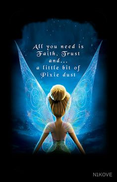 Tinkerbell Fairies by - Disney Liebe Tinkerbell Disney, Tinkerbell Fairies, Disney Fairies, Tinkerbell Quotes, Tattoo Tinkerbell, Tinkerbell And Friends, Tinkerbell Party, Disney Tangled, Frases Disney