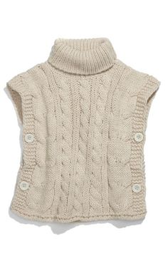 I'm thinking refashion from an adult sweater and make for a kid...